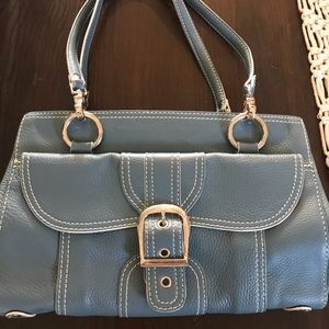 Isabella Fiore handbag, light blue